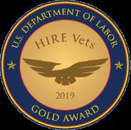 U.S. Department of Labor Gold Award 2019