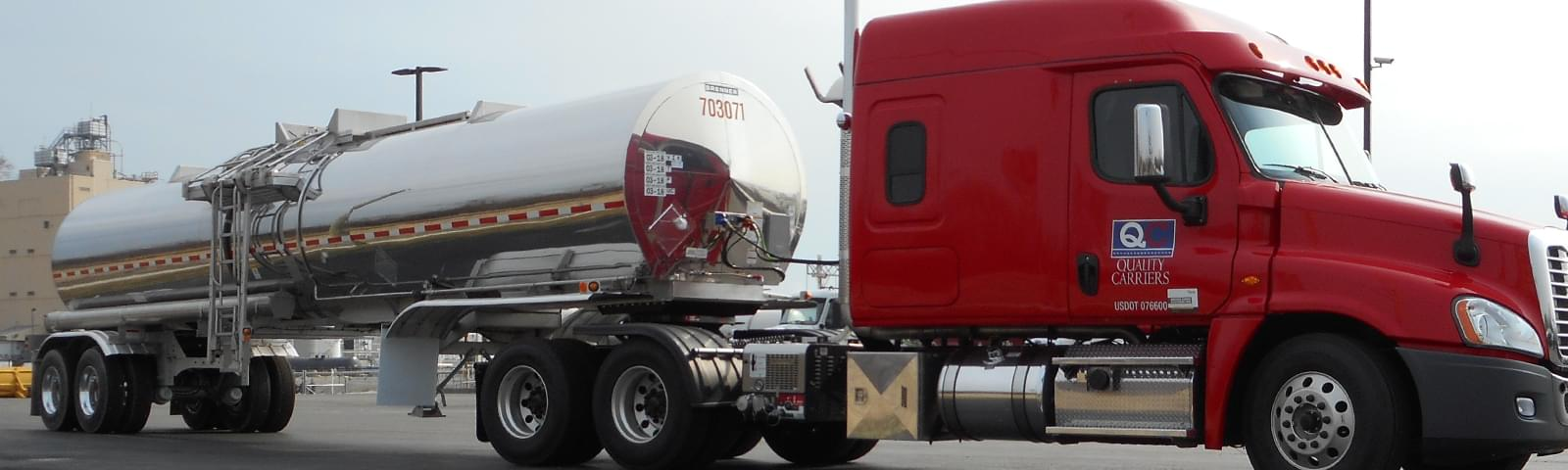 Class A Cdl Company Tanker Truck Drivers At Quality Carriers