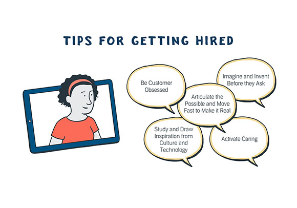 Tips for getting hired