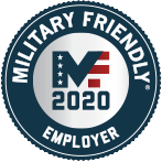 Military Friendly Employer Award 2020