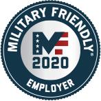 Military Friendly Employer Award 2020