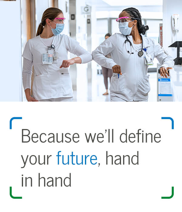 Because we'll define your future, hand in hand