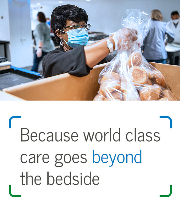Because world class care goes beyond the bedside