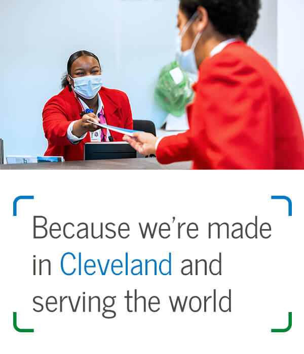 Because we're made in Cleveland and serving the world