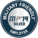 Military Friendly Employer Award - 2019