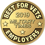 Military Times - Best for Vets Employers award - 2019