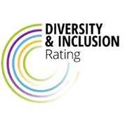 Diversity and Inclusion rating logo