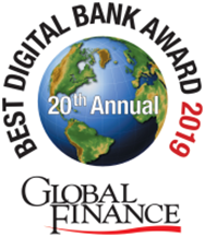 Best Digital Bank Award 2019