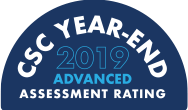 CSC Year-End 2019 Advanced Assessment Rating