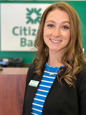 Jillian Amspacker, Branch Manager, Consumer Banking