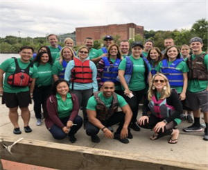 New England South Retail colleagues come together through a common sense of competitive purpose at the Chinese Dragon Boat Races.
