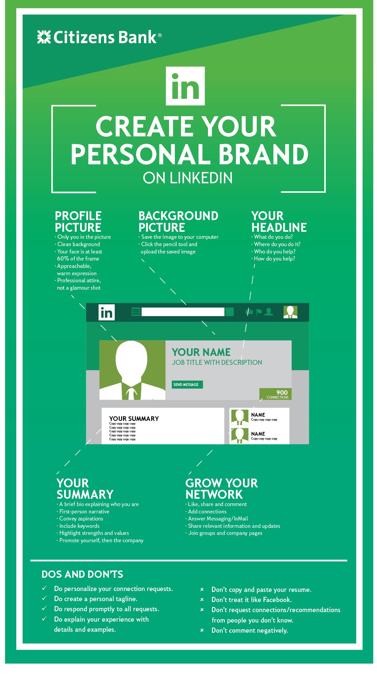 Creating a LinkedIn Brand