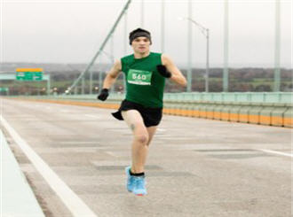 Geoff loves the Pell Bridge Run for its meaningful impacts to local RI charities and the spectacular view on the bridge.