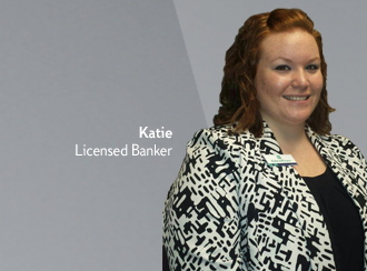 Katie is a Licensed Banker who has the support of her team to do what she does best: help Citizens bank better.