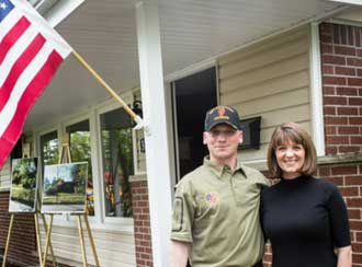 Another year, another mortgage-free home to honor a military hero's service.