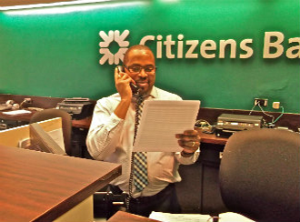 From poverty-stricken Guyana to successful senior personal banker at Citizens Bank.
