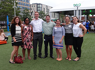 Young Professionals Network in Partnership with Citizens Bank hosts summer fun at The Lawn on D.