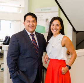 Meet Karen and Omar, successful bankers and proud Hispanic Americans serving the Framingham, MA community.