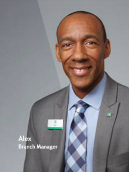 Citiens Bank employee Alex