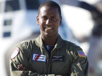 U.S. Coast Guard Pilot Soumangue
