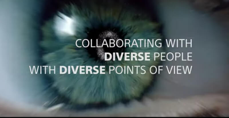 Collaborating with diverse people with diverse points of view. (video poster)