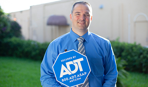 happy employees at ADT.