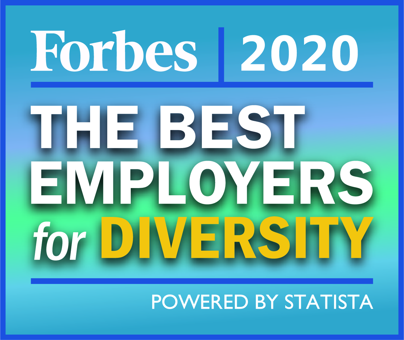 Forbes 2020 - The Best Employee for Diversity