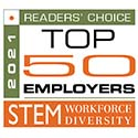 2021 Readers Choice Top 50 Employers