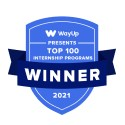 WayUp 100 Top Internship Programs Award