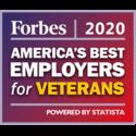 Prix Forbes 2020 - Meilleurs employeurs au monde pour les vétérans