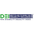 2021 DEI Best Place to Work For Disability Inclusion