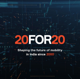 Check how we celebrate 2 decades of Shaping the Future of Mobility