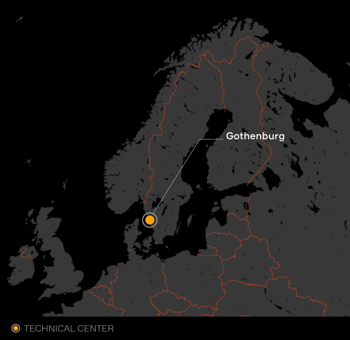 Aptiv locations listed in Sweden