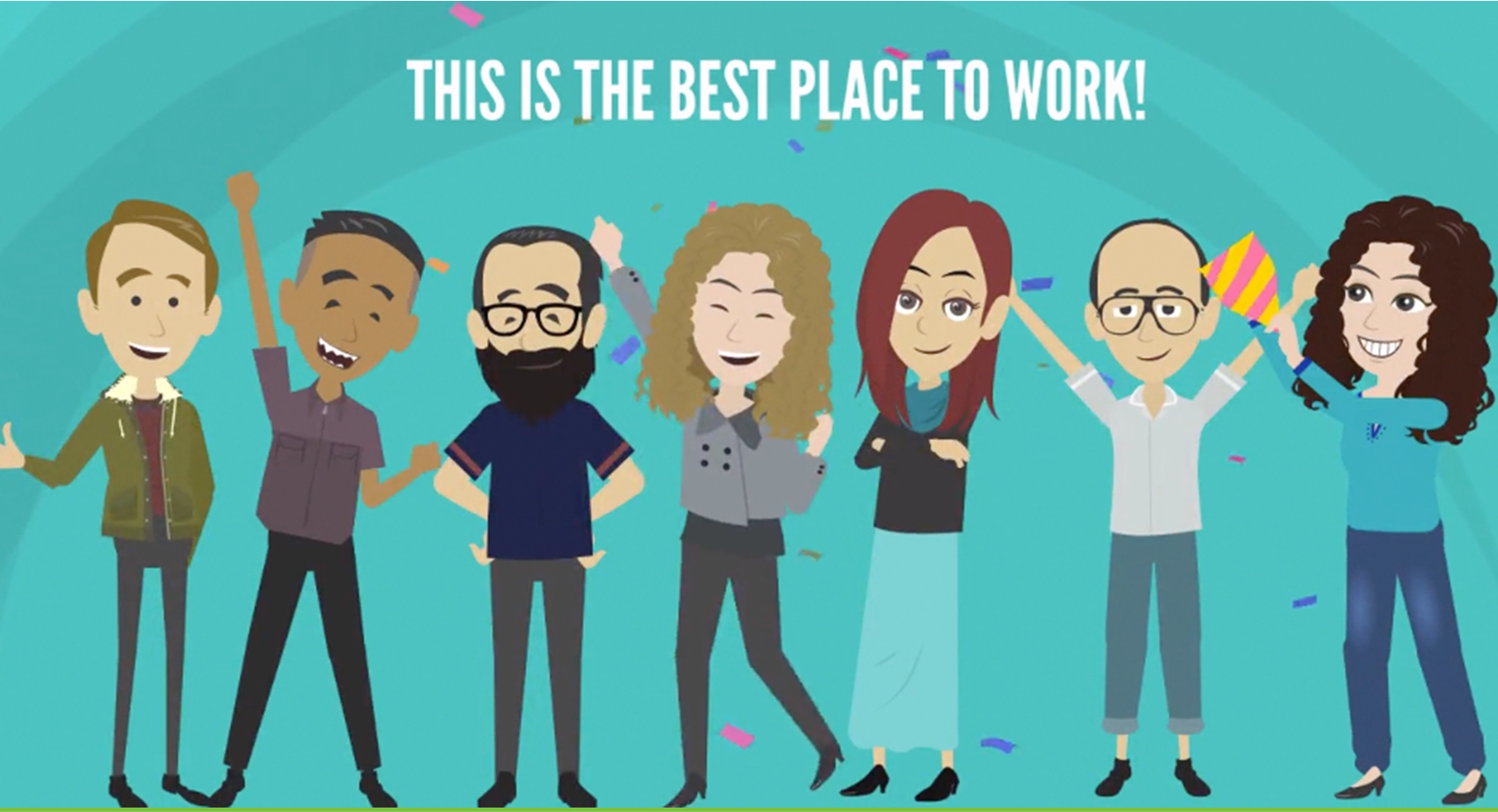 This is the best place to work!