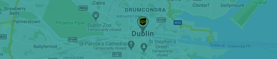map of dublin ireland