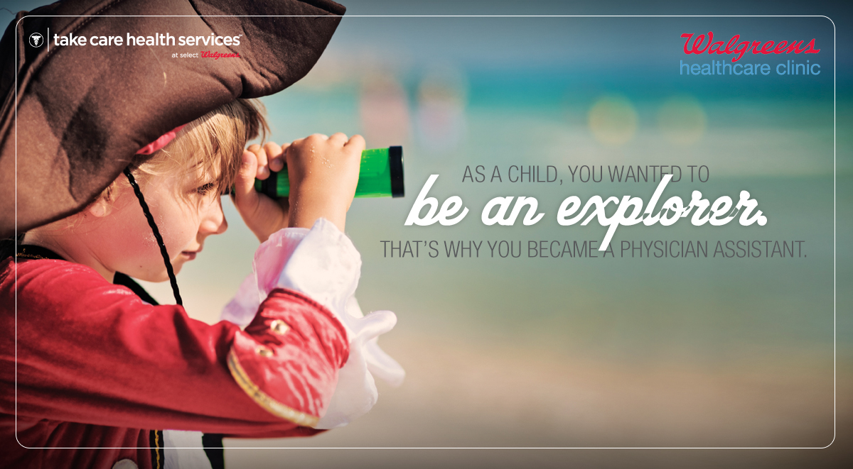 As a child, you wanted to be an explorer