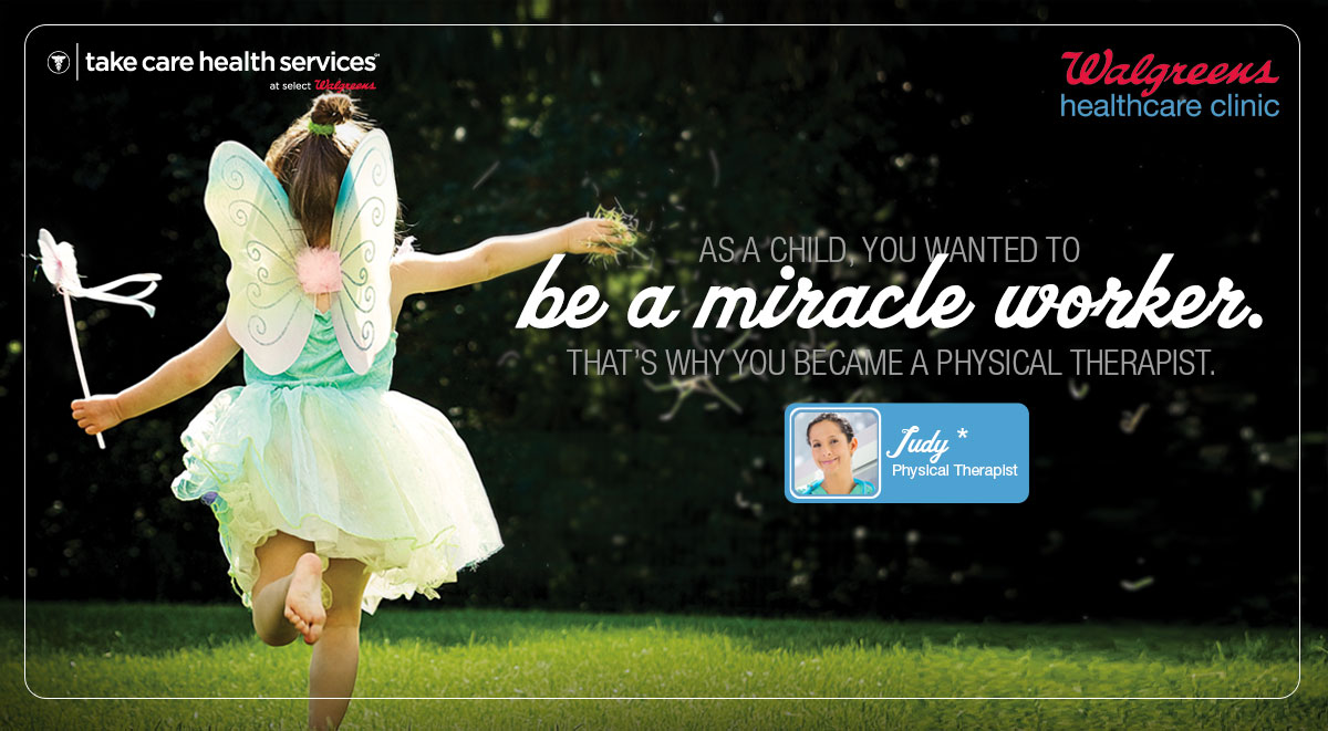 As a child, you wanted to be a miracle worker