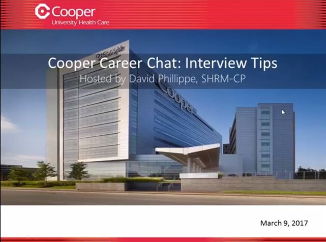 Cooper Career Chat