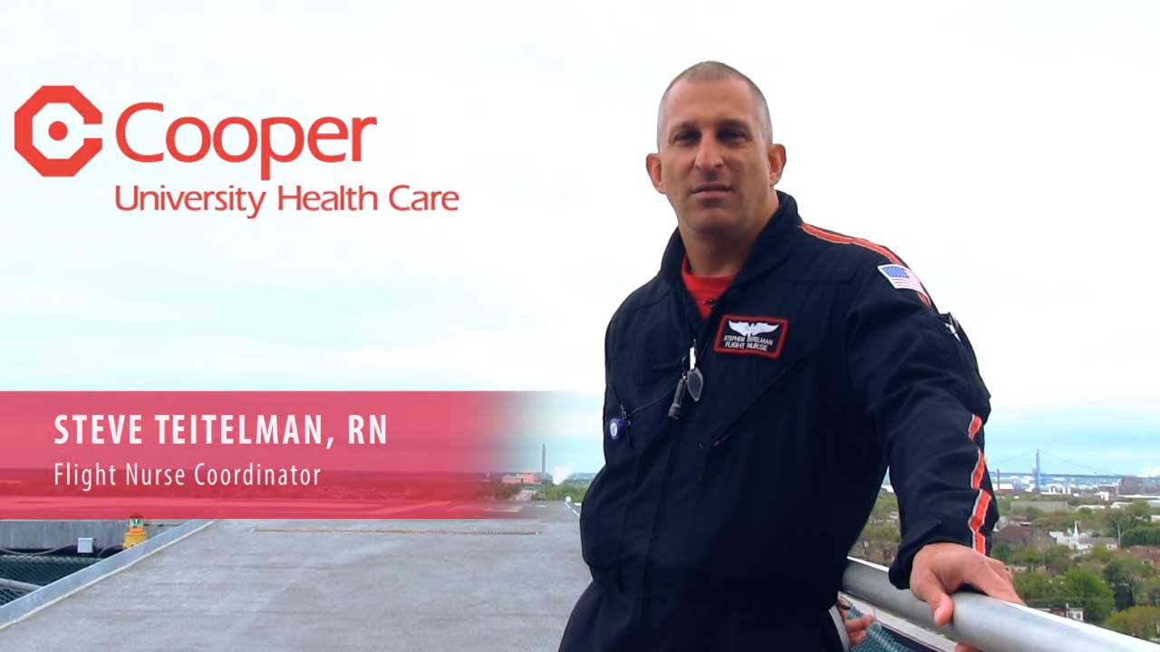 In Their Own Words: Flight Nurse Steve Teitelman Shares His Inspirations