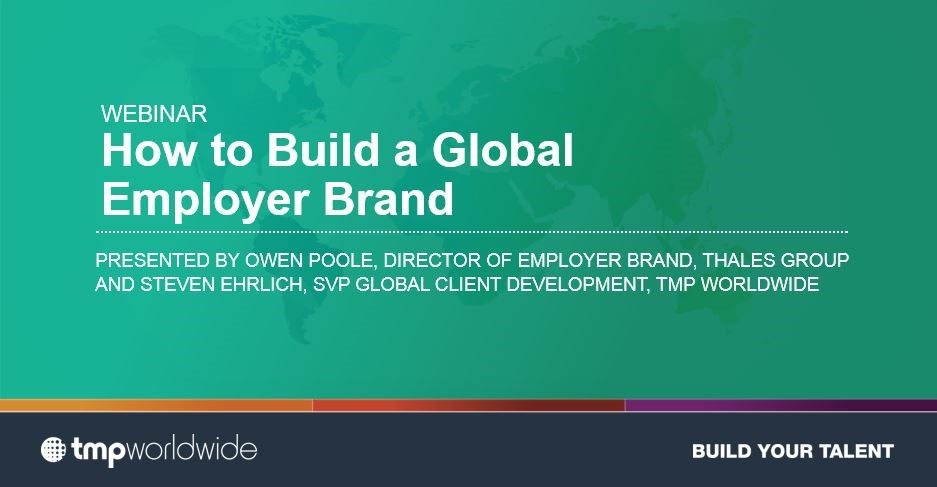 Building a Global Employer Brand: The Thales Story