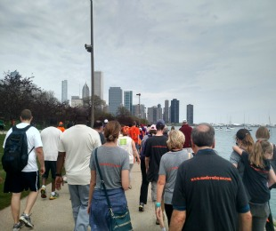 Chicago MS Walk