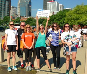 Louisville Walk Group Photo