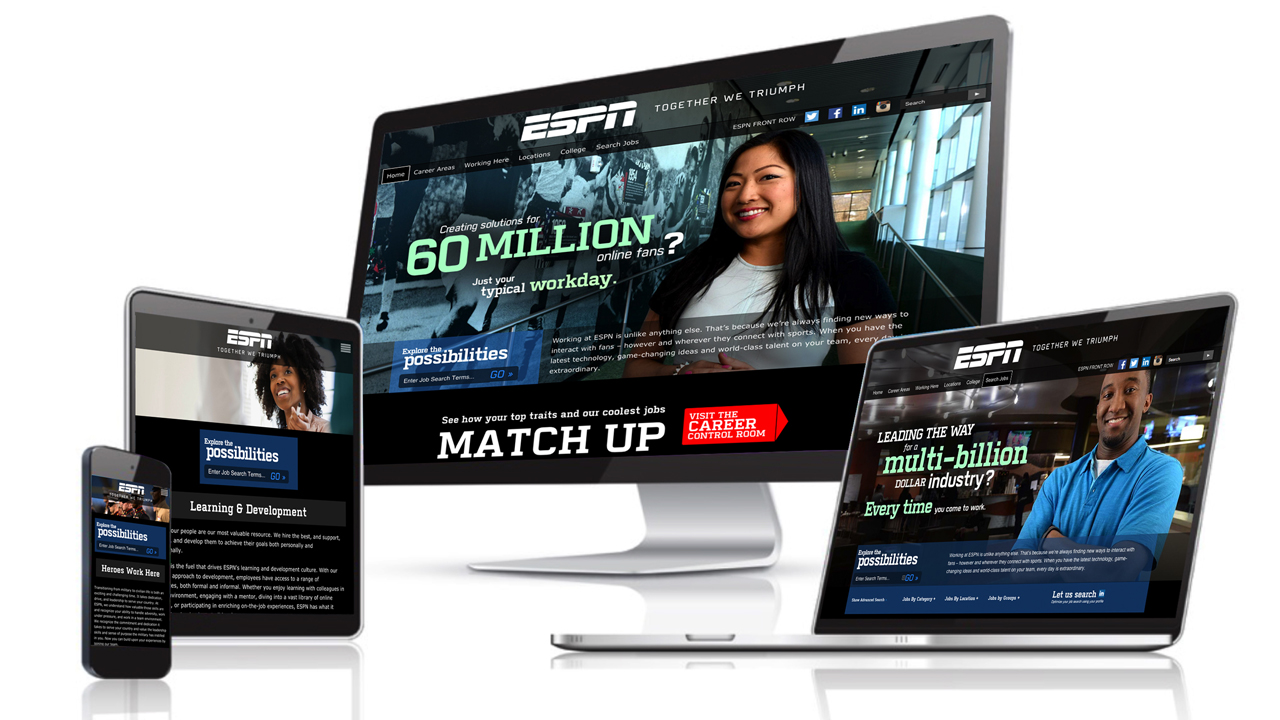 espn case study Espn chose ethernet avb for their digital center to guarantee performance for  time-critical media traffic in a normal switched network.