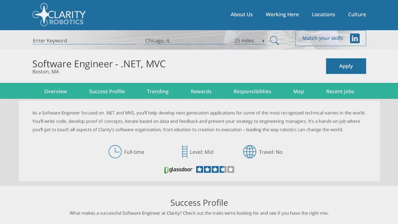 TalentBrew's Advanced Job Descriptions
