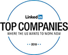 Linkedin Top Companies Where the US Wants to Work Now 2018