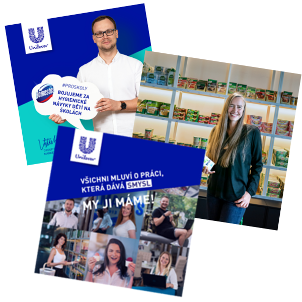 Portraits of Various Unilever Employees