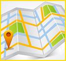 Cartoon Map - Job Location Link