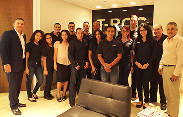 T-Mobile store managers group photo