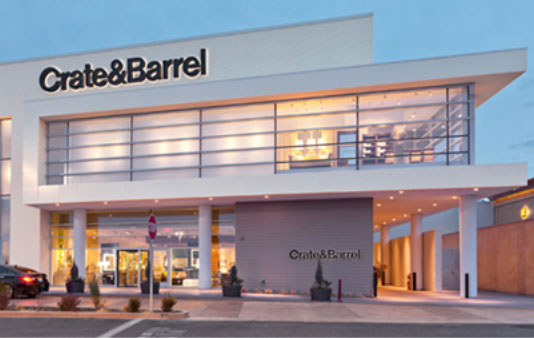 crate and barrel store. stores crate and barrel store