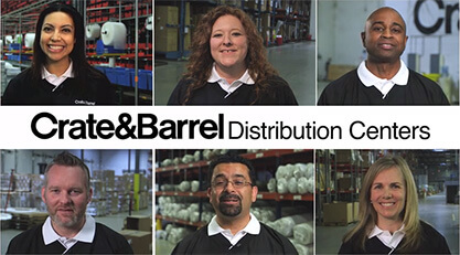 Crate & Barrel Distribution Center and Leadership Careers
